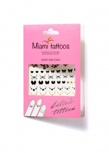 Cuticle Tattoos! Cheap and Chick